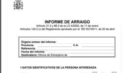 Informe de arraigo para solicitar el permiso de residencia en España