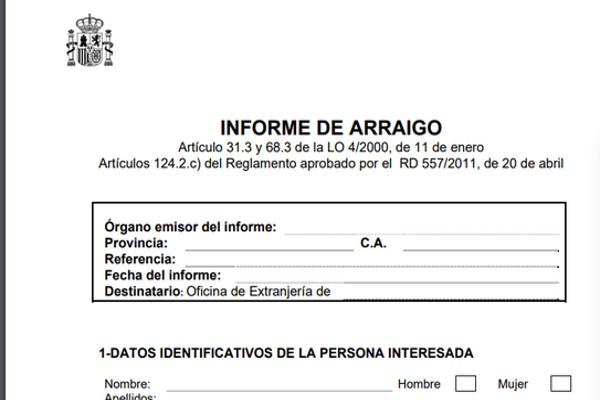 informe-arraigo-solicitud-residencia-extranjero