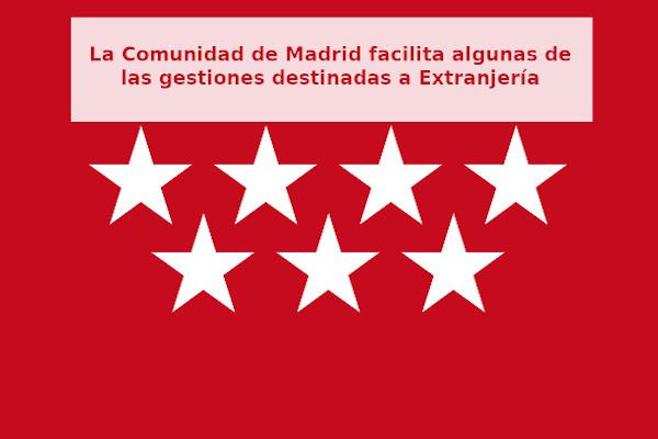 La Comunidad de Madrid apoya a la comunidad inmigrante y facilita algunas de las gestiones destinadas a Extranjería