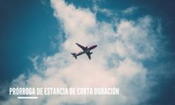Prórroga de estancia de corta duración en España