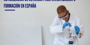 Estudiar en España: Autorización de estancia para investigación o formación