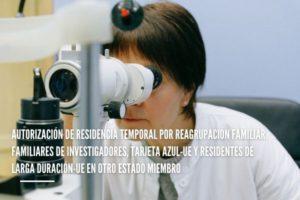 Reagrupación familiar. Familiares de investigadores, tarjeta azul-UE y residentes de larga duración-UE en otro Estado miembro